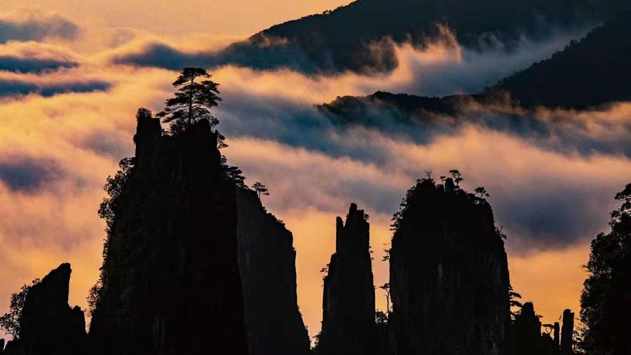 莽山旅游新贵景区莽山五指峰景区